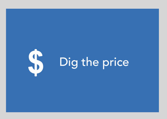 Dig the Price