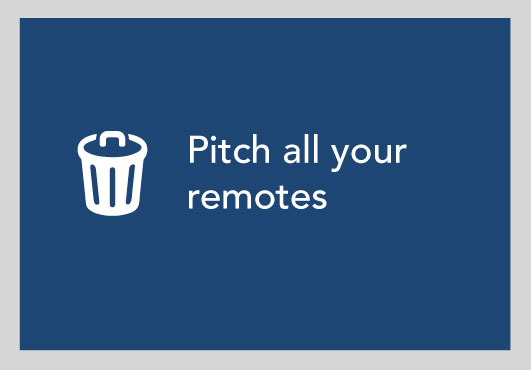 Pitch All Your Remotes