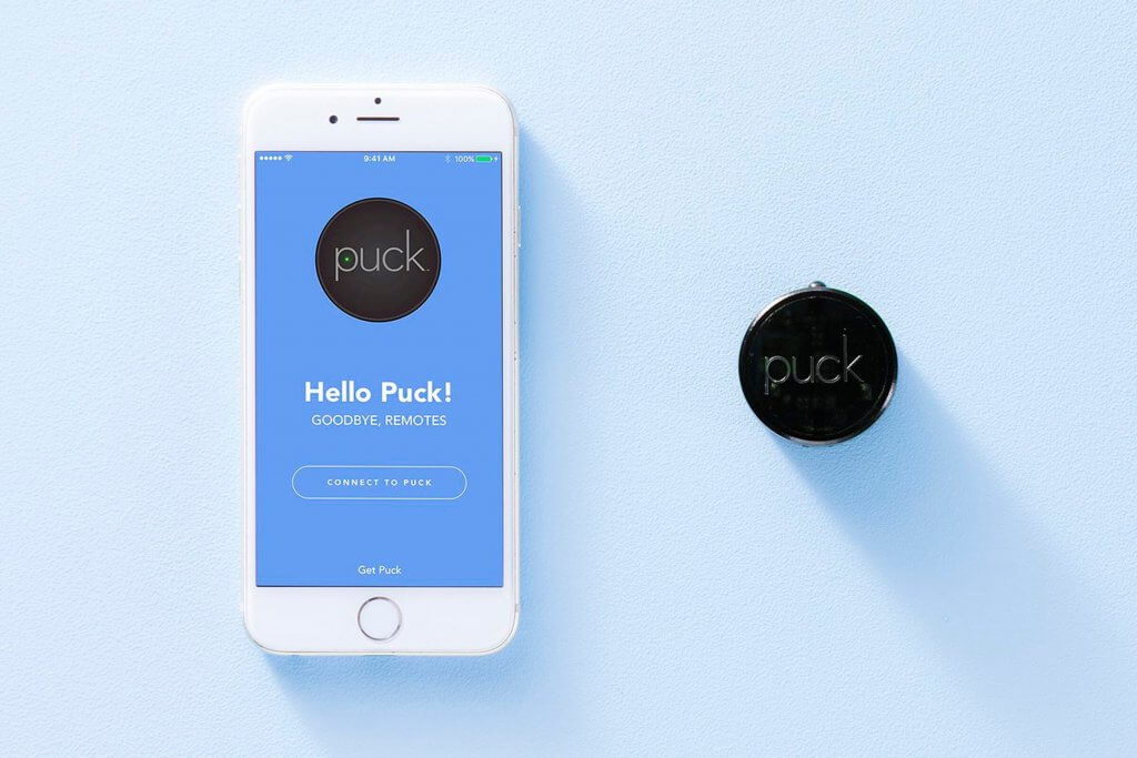 Goodbye to wasted time spent searching for misplaced remotes — PUCK is here!